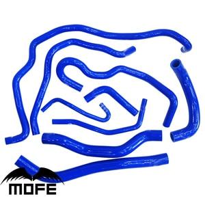 9 шт./компл., оригинальный логотип, силиконовый радиатор для воды, Нагреватель охлаждающей жидкости, комплект трубок для Mazda 6 2,0 2003-2008 Blue