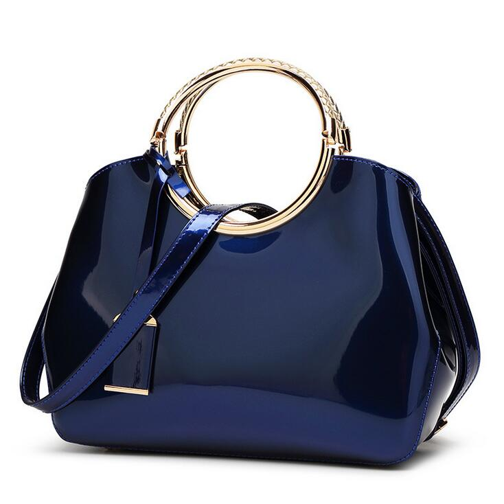 2017 High Quality Famous Brand Patent Leather luxury Women bag Ladies Cross Body messenger Shoulder Bags Handbags women bag high quality patent leather ladies cross body messenger shoulder bags women famous brand handbags bolsa feminina a0358