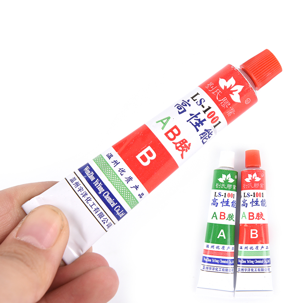 2Pcs Glues(A+B) Two-Component Modified Acrylate Adhesive AB Glue Super Sticky Superior bond strength