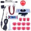 Miroad 5 In 1 Zero Delay Arcade Games DIY Kit USB Encoder Joystick For PC XBOX