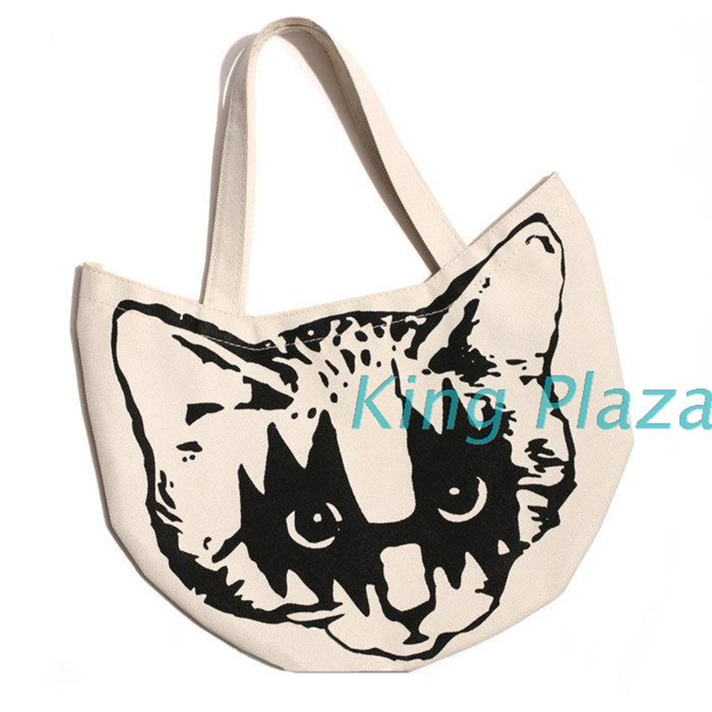 Cartoon Anime Cute Soft sister Shibuya Gray Cat School bag Child adult lady backpack han ...