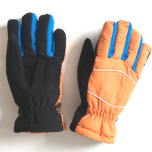GLV851 Keep warm antiskid wind stopper velvet cycling young students outdoor winter font b gloves b