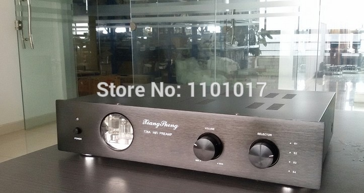 XiangSheng 728A Tube Pre-Amplifier HIFI EXQUIS Famous Japanese Cuircuit 12AT7 12AU7 6Z4 Pre-amps 2pcs lot 12at7 tii hifi tube 12at7 diy