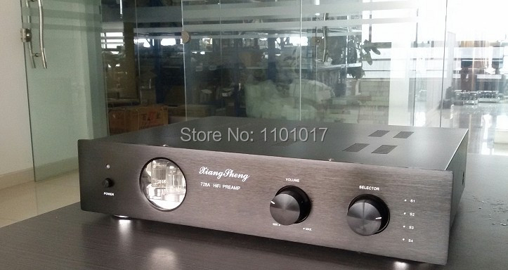 XiangSheng 728A Tube Pre-Amplifier HIFI EXQUIS Famous Japanese Cuircuit 12AT7 12AU7 6Z4 Pre-amps