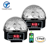2PCS Disco Light Led Stage Lamp Laser Christmas Lights Lumiere DMX Moving Head Christmas Laser Projector