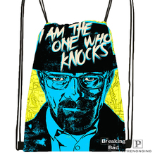Custom Breaking Bad Drawstring Backpack Bag for Man Woman Cute Daypack Kids Satchel (Black Back) 31x40cm#180531-01-20