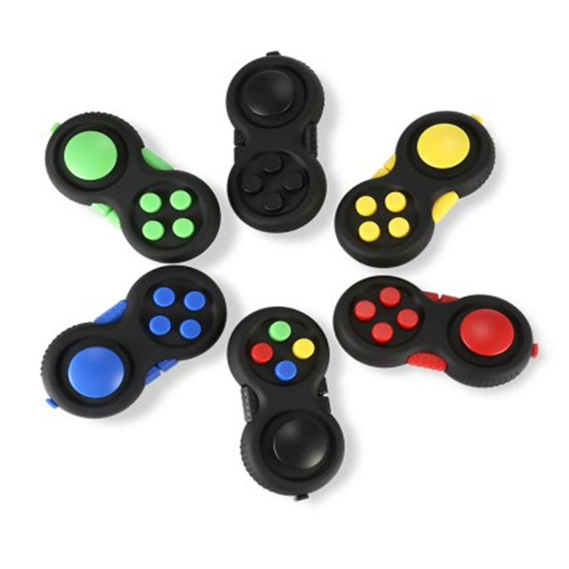 Anti Stress Relief Gifts Fidget Cube Hand Puzzles Joy stick Kids Toys Desk Toy Squeeze H ...
