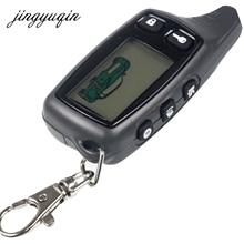 Jingyuqin новый для Tomahawk TW9010 ЖК-дисплей пульт дистанционного управления два пути автосигнализации Системы русский 9010 брелок