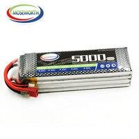 MOSEWORTH 4S 14.8v 5000mah 40C 80C RC Lipo battery for rc airplane drone car tank batteria cell akku free shipping