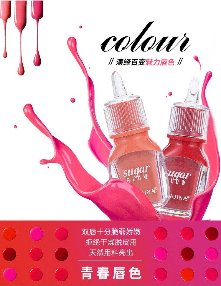 Nahrhaft candy lip gloss kosmetik Wasserdichte lippenstift matt flüssigen lippenstift sexy farbe lippen tönung