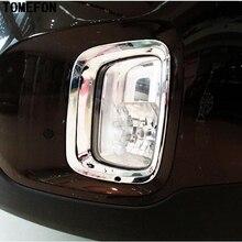 Tomefon для Kia Sorento 2013 ABS Хром Внешний передние противотуманные свет лампы ободок крышки Foglight отделкой автомобиля Интимные аксессуары