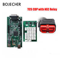 5Pcs/Lot 2016.R0 with keygen TCS CDP Pro Plus For Cars/Trucks/Generic Auto Diagnostic Tool CDP Pro With Bluetooth by DHL Free