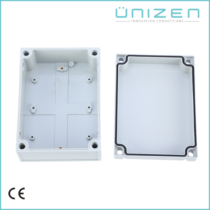 UNIZEN AG-1712 Waterproof Plastic Enclosure Box Electronic Project Instrument Case Outdoor Junction Box 175x125x75mm 1pc waterproof enclosure box plastic electronic project instrument case 200x120x75mm