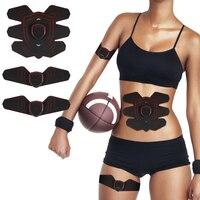 New Rechargeable Abdominal Muscle Stimulator Belly Arm Waist Fitness Abdominal Workout Machine Toning Belt for Men Women