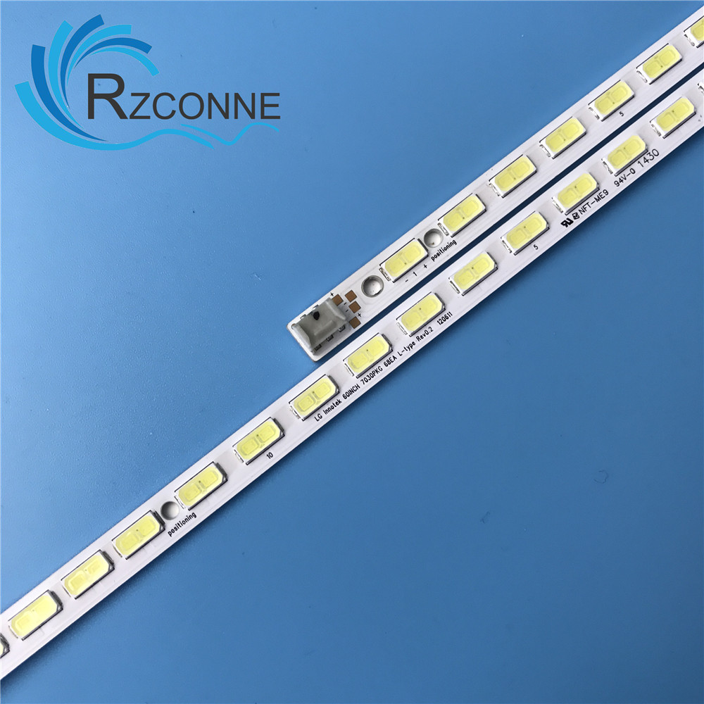 Industrial Computer & Accessories 676mm Led Backlight Lamp Strip 68leds For 60 Inch Lcd Led Tv Lcd-60lx540a 60lx640a 60lx750a
