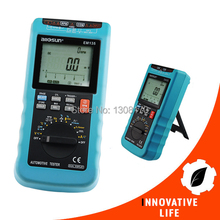 Wholesale Automotive Digital Multimeter Scan Car Truck Engine Analyzer RPM AC DC Voltage Current Resistance Diode Duty Cycle Dwell Angle