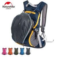 NatureHike 15L Waterproof Backpacks Ultralight Rucksack Cycling Bike Camping Climbing Hiking Trave Bags With Helmet Net