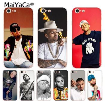 MaiYaCa Chris Brown Breezy transparent soft tpu phone case for iPhone 8 7 6 6S Plus X XS MAX XR 5S SE 12 11pro maxCases FUNDA image