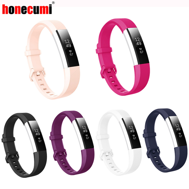 Honecumi For Fit bit Alta Hr Straps High Quality Replacement Band Bracelet Silicone Wrist Strap For Fitbit Alta HR / Alta