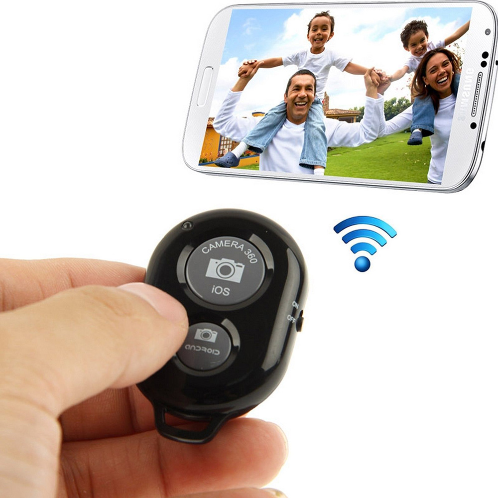 Mini Bluetooth Remote Control Shutter for Iphone Samsung Xiaomi Huawei Smartphones Remote for Shooting taking photos in Remote Controls from Consumer Electronics