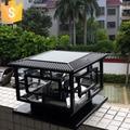 New arrival Solar Pillar Lamp LED Solar Garden Light Outdoor Garden Landscape Lamp Garden Sets D40*H35cm Free shipping
