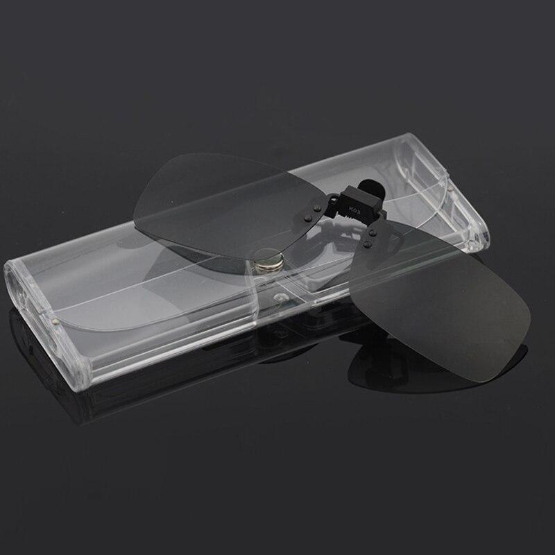 1 Stücke Stilvolle Transparent Brillen Sonnenbrillen Softcase Box Tragbare Protector Halter Ein Kunststoffkoffer Ist FüR Die Sichere Lagerung Kompartimentiert