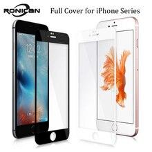 9H 0.2Mm 2.5D Nhiều Màu Sắc Đầy Đủ Nắp Kính Cường Lực Cho iPhone 7 8 Plus Chống Cháy Nổ Tấm Bảo Vệ Màn Hình cho iPhone 6 6S Plus