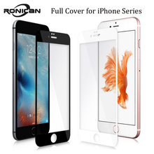 9H 0.2mm 2.5D Colorful Full Cover Tempered Glass For iPhone 7 8 Plus Explosion Proof Screen Protector Film For iPhone 6 6s Plus
