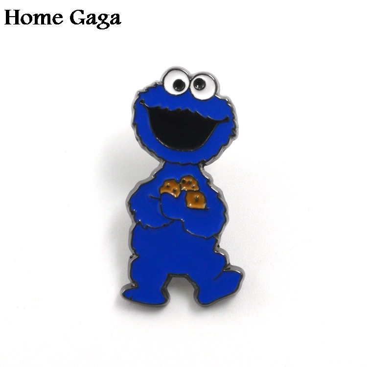 10pcs/lot Homegaga Sesame Street Cartoon Zinc Pins Para Backpack Pride Clothes Bag Shirt Hat Badges Brooches For Men Women D1669 Sophisticated Technologies Home & Garden Arts,crafts & Sewing