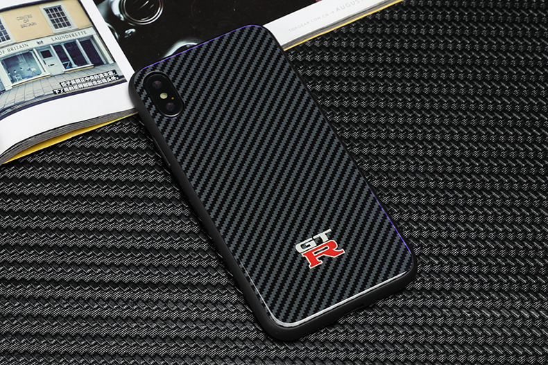 the latest 8de51 b0c23 US $8.78 20% OFF|Tempered glass Nissan Skyline GTR logo Phone Case for  iphone X XR XS Max 7 6 6S 8 plus cases Samsung Galaxy S8 S9 plus note 8 9  -in ...