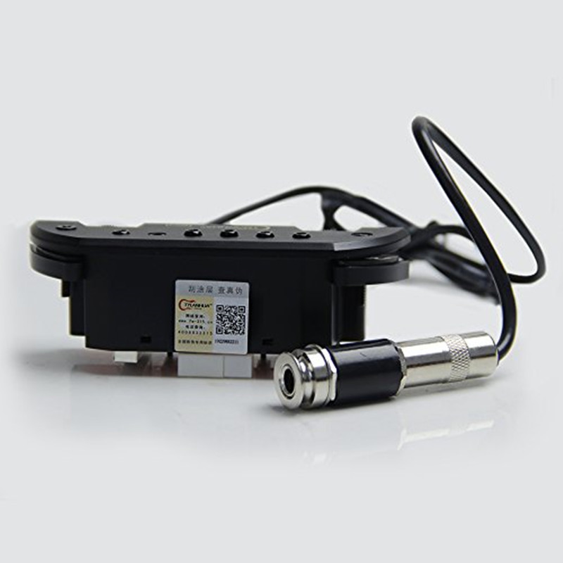 Skysonic Pro-1 micro magnétique de trou de son excellente réponse basse et milieu de gamme pour guitare porte-crochets