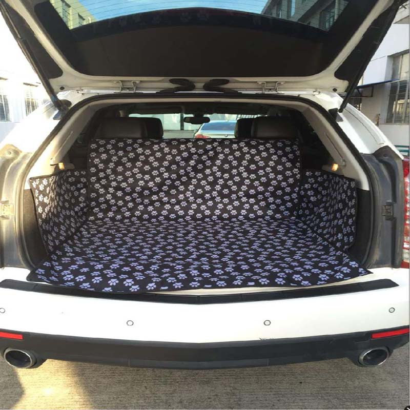 Pet Dog Car Trunk Cushion Protector Thickening Oxford Fabric Waterproof Seat Cover Mat Pad Blanket Travel