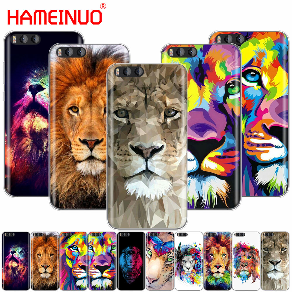 HAMEINUO Big Lion On Stone snow Cover Case for Xiaomi Mi 3 4 5 5S 5C 5X 6 Mi3 Mi4 4S 4I 4C Mi5 MI6 NOTE MAX 2 mix plus