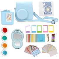9 in 1 Immediata Film Camera Accessorio Borsa Fotografica Close-up Selfie lente Album Bundle Decorazione Stiker Kit per Fujifilm Instax Mini 8