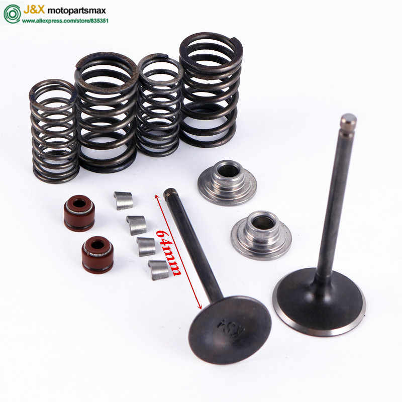 GY6 50 60 80 100cc 64/69 Mm Valve Spring Assembly Kit 4 Takt Scooter Bromfiets Atv 139QMB 139QMA motor Q