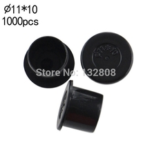 11MM Tattoo Inkcups Caps 1000pcs Plastic Tattoo Pigment Ink Cup Self-standing Large Size Black Cup Supply Tattoo