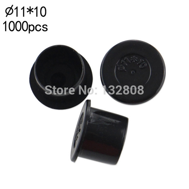 11MM tattoo inkcups Caps 1000pcs Plastic Tattoo Pigment Ink Cup Self standing Large Size black Cup