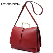 LOVEVOOK brand design handbag women envelope evening clutch bags female solid crossbody bag fashion artificial leather tote(China)