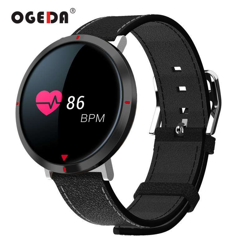 OGEDA Для мужчин Фитнес Inteligente часы S2 Multi-Функция Smart Для мужчин часы модные Водонепроницаемый G-Сенсор для Andorid IOS спортивные часы