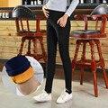 Mais grossa de veludo calças de veludo ouro cuidados de mulheres grávidas calças barriga grávida calças calças quentes para mulheres grávidas