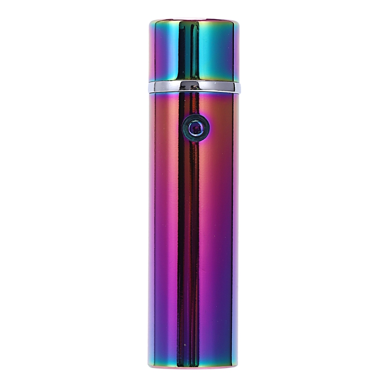 6 Arc Lighter Plasma Electric Cigarette Lighter Metal Rechargeable Usb Lighters Six Cross Arc Pulse For Weed Tobacco image