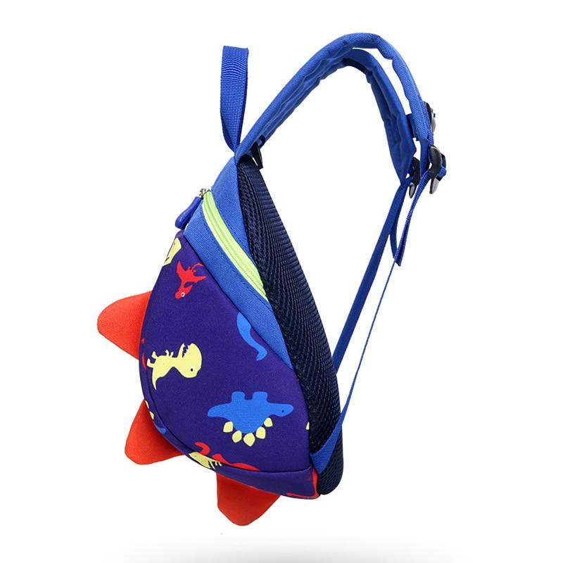 ZIRANYU Anti-lost Kids Bags 3d Backpack Cartoon Animal Printing Bags Children Backpacks Boy Girls Kindergarden School Backpack