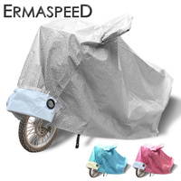 S M L XL XXL Universal Aluminum Film Waterproof Dust Proof Insulation Motorcycle Cover Red Blue