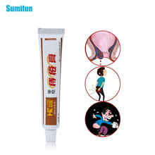 Sumifun 1Pcs Soft Hemorrhoids Ointment 100% Original Cream Anus Prolapse Pain Relief External Anal Fissure Plaster P1002