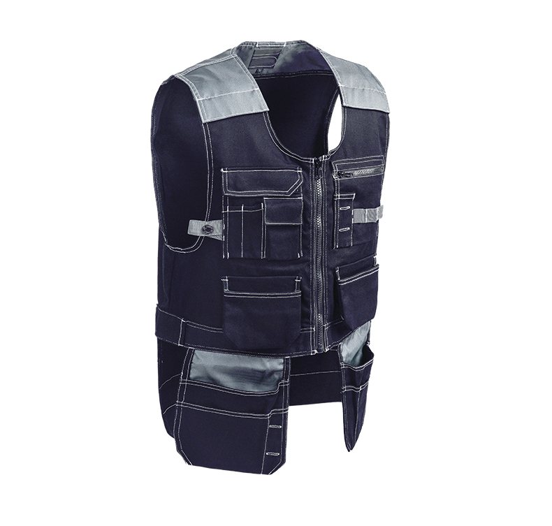 Male Multifunction Multi Pocket Tool Vest