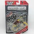 "Flick Trix Bmx Mini Finger Bike ""TURBO"" Alloy model bikes with wheels trick bars display stand bonus stickers and tools"
