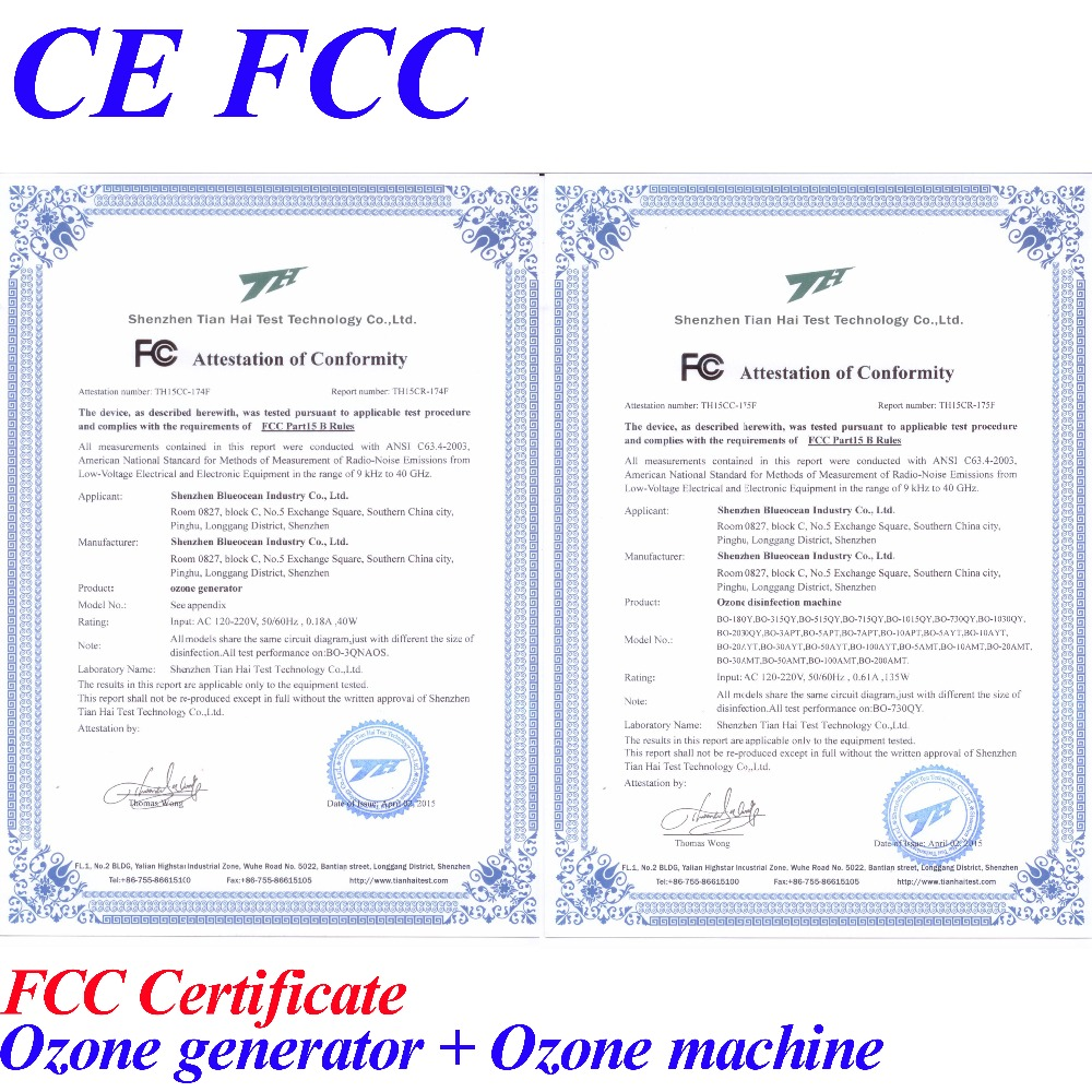 Ozonatori CE EMC LVD FCC në - Pajisje shtëpiake - Foto 6