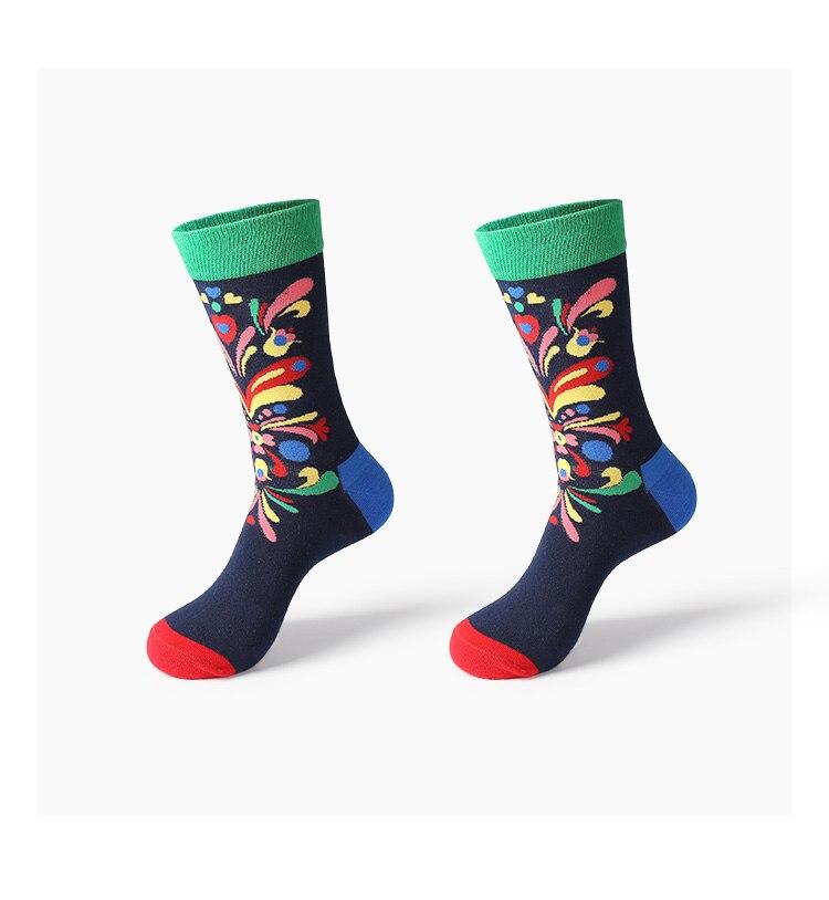 VVQI 2018 winter men socks cotton crew harajuku women socks couple gifts funny mens fashion art socks novelty streetwear fuzzy