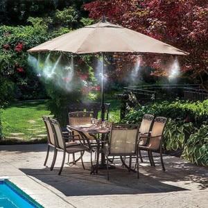 Image 5 - 8M กลางแจ้ง Misting ชุดระบบทำความเย็น Greenhouse Garden Patio Waterring ชลประทาน Mister สายระบบ Cooling ชุดหัวฉีด