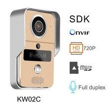 Wi-Fi Enabled Video Doorbell HD camera door bell  WiFi Video Doorbell Video intercom
